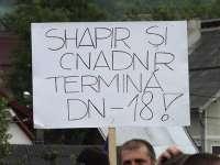 NEMULȚUMIRI: Locuitorii din Moisei și Borșa pregătesc un nou protest la finele lunii iulie