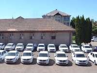 Nouă autospeciale Dacia Logan au intrat în dotarea Poliției din Maramureș
