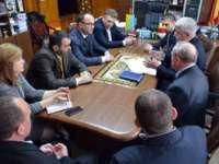 Noul Pod peste Tisa - Discuții la Prefectura Maramureș cu partea ucraineană