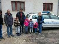 O călăuză și opt migranţi irakieni, opriți la frontiera cu Ungaria