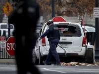 O maşină a lovit o barieră de securitate la Casa Albă