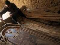 O necropolă cu aproape 50 de mumii a fost descoperită în Egipt