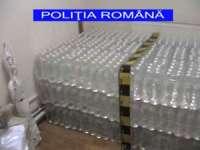 O sută de litri de alcool confiscat de polițiștii maramureșeni