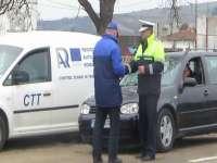 O treime dintre maşinile oprite și verificate în trafic de RAR au prezentat defecţiuni