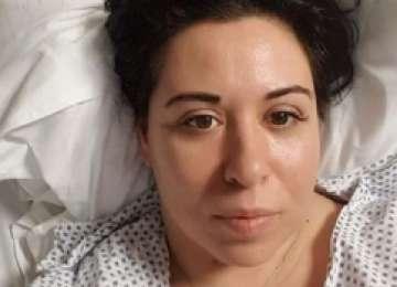 Oana Roman, de urgenţă la spital