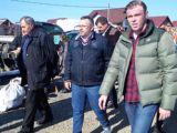 OCNA ȘUGATAG - Ovidiu Nemeș face campanie electorală, alături de șeful hingherilor din Sighet
