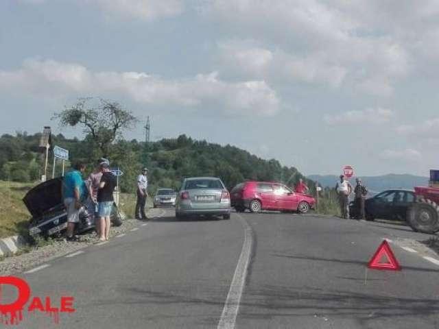 Ocna Șugatag - Un grav accident de circulație a avut loc în urmă cu puțin timp