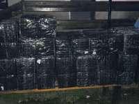 Ocna Şugatag și Baia Sprie - Două autovehicule indisponibilizate și 35 700 pachete cu ţigări confiscate
