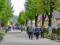 Orașul Vișeu de Sus, al doilea în țară ca suprafață