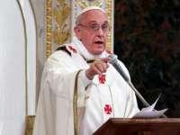 """PAPA FRANCISC: """"Decât să fii un credincios ipocrit, mai bine ateu"""""""