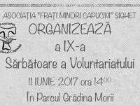 """Parcul Grădina Morii - Asociaţia """"Fraţi Minori Capucini"""" organizează cea de-a IX-a """"Sărbătoare a Voluntariatului"""""""