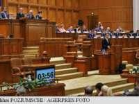 Parlamentul a respins moțiunea de cenzură