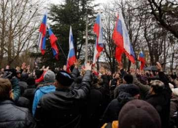 Parlamentul din Crimeea a adoptat o declaraţie de INDEPENDENŢĂ faţă de Ucraina