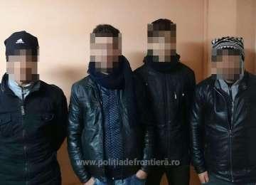 Patru cetățeni irakieni, depistaţi la frontiera cu Ungaria