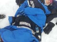 Patru persoane accidentate pe pârtia de schi din Cavnic, salvate de jandarmii montani