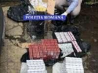 Percheziție la Baia Mare - 39 200 ţigarete de contrabandă confiscate de poliţişti