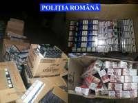 PERCHEZIȚII: Ţigări în valoare de aproximativ 22.000 de lei confiscate de poliţiştii Biroului de Combatere a Contrabandei