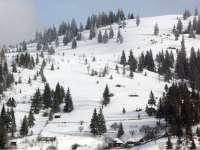 Pericol de avalanşe în zona Borşa