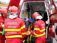 Persoană trasportată la spital în urma unui accident rutier în Berbeşti
