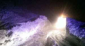 Persoane surprinse de avalanşă pe DN 18, în Pasul Gutâi