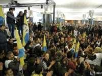 Peste 100 de kurzi au pătruns cu forța în sediul Parlamentului European din Bruxelles