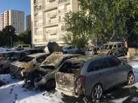 Peste 1.000 de mașini incendiate în Franța de Anul Nou