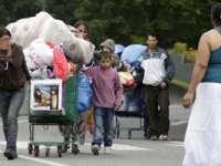 Peste 11.000 de migranți romi au fost evacuați cu forța în Franța în 2015