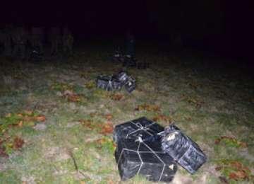 Peste 11.000 pachete ţigări de contrabanda confiscate de către poliţiştii de frontieră
