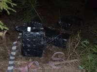 FOTO - Peste 13.000 de pachete de ţigări de contrabandă, confiscate la frontiera de nord