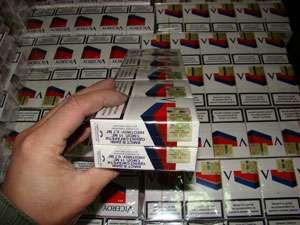 Peste 20.000 pachete cu ţigări confiscate la frontiera de nord