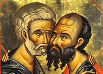 Peste 500.000 de români își sărbătoresc duminică onomastica de Sfinții Petru și Pavel
