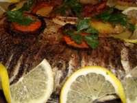 Pește la cuptor cu lămâie