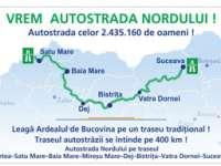 """Petiţie pentru Autostrada Nordului - un proiect """"pe hârtie"""" care vizează şi Maramureşul"""