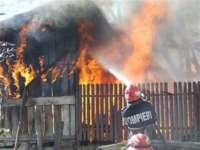 Petrova - Incendiu la o anexă gospodărească