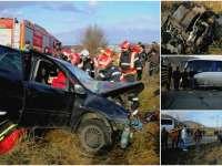Plan roșu de intervenție după un accident rutier în județul Bacău. 28 de persoane au fost implicate