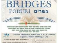 Poduri: Zilele europene ale culturii evreiesti, în 6 septembrie la Sighet