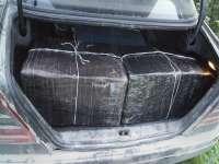 POIENILE DE SUB MUNTE - Mercedes burdușit cu țigări de contrabandă