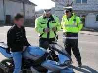 POLIŢIA: Băimărean depistat în timp ce conducea o motocicletă deşi nu are permis