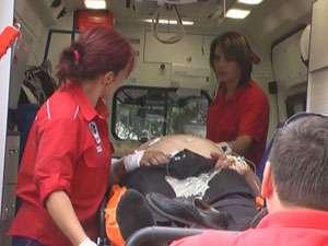 POLIŢIA: Bătrân de 72 de ani accidentat la Vişeu de Sus