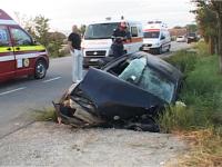 POLIŢIA: Eveniment rutier soldat cu rănirea uşoară a unei persoane