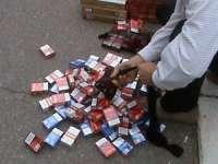 POLIŢIA: Maramureşeni prinşi în flagrant cu 1150 pachete cu ţigări de contrabandă