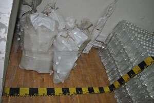POLIȚIA: 124 litri de alcool confiscat la Buciumi