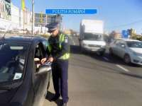 POLIȚIA: Amenzi în valoare de aproximativ 44 000 de lei aplicate într-o singură zi participanţilor la trafic