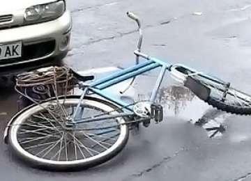 POLIȚIA: Biciclistă accidentată la Sighetu Marmaţiei