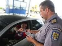 POLIȚIA DE FRONTIERĂ: Bărbat ascuns în portbagajul unui autoturism pentru a ieși ilegal din țară