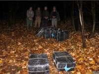 Poliția de frontieră - Patru contrabandiști reținuți cu focuri de armă