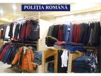 POLIȚIA: Dosare penale și articole de îmbrăcăminte confiscate la Sighetu Marmației și Baia Mare