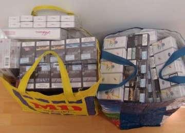 POLIȚIA: Femeie din Onceşti cercetată pentru contrabandă cu ţigări