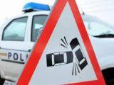 POLIȚIA: Pieton accidentat la Coruia