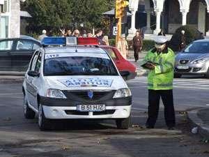 POLITIA: Sancţiuni aplicate pentru abateri la regimul circulaţiei